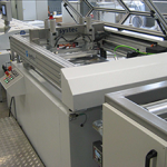 flatbed screen printer