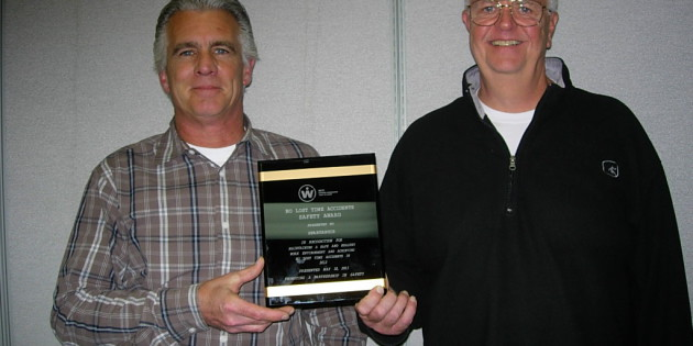 Spartanics Receives Safety Award from WCTI