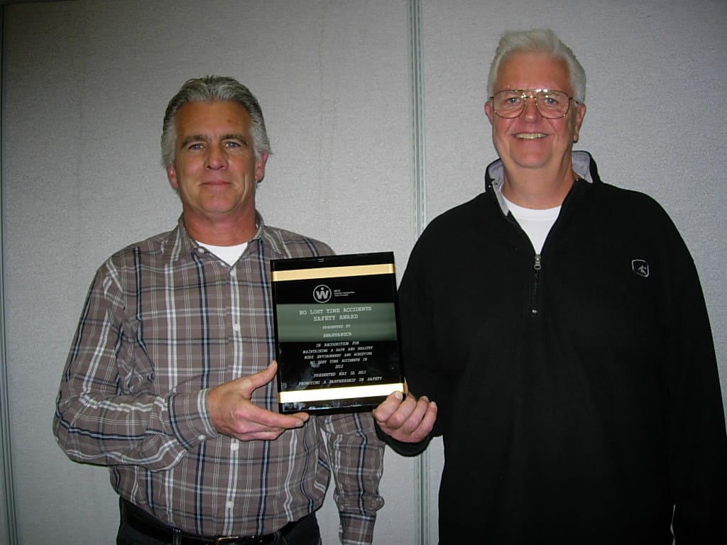 spartanics safety award