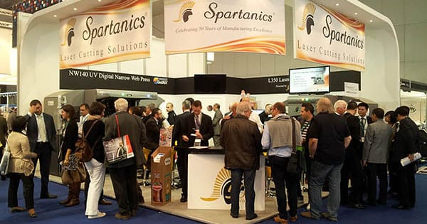 Labelexpo Europe Show Creates Spartanics Fever