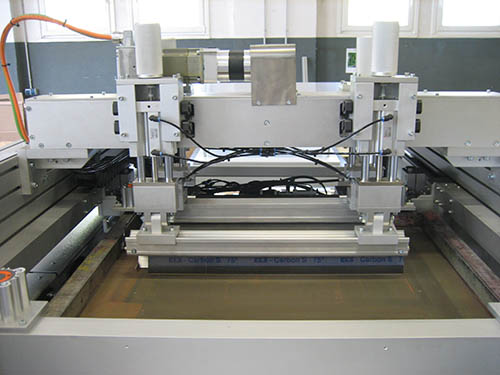screen printer printing machine