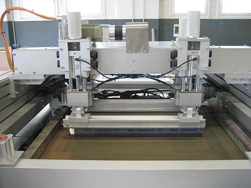 industrial screen printing machine screen printing system spartanics