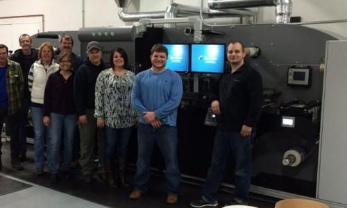 ImageTek Installs the Spartanics Semi-Rotary Laser Die Cutting System