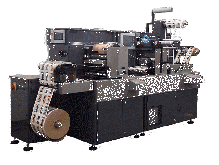 ecut,semi-rotary,converting,laser,finishing,labels,labeling,manufacturing,smag graphique, spartanics