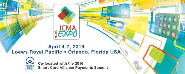 ICMA EXPO – April 4 -7, 2016