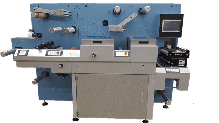 sr350-semi rotary-converting-labels-packaging-machine